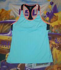 Women's REEBOK Playdry  Racerback  Tank Top w/ Sports Bra Sz  XL