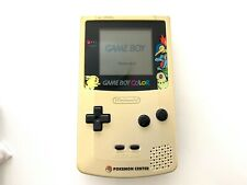 Nintendo GAME BOY COLOR console POKEMON CENTER limited CGB-001 tested works DHL
