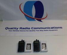 2 Vertex Standard Motorola Evx 534 G7 5 450 512 Mhz Uhf Two Way Radio Battery