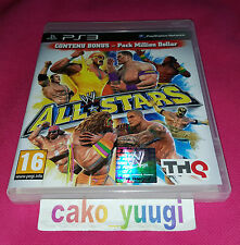 WWE ALL STARS SONY PS3 TRES BON ETAT VERSION 100% FRANCAISE