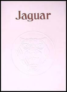 1978 Jaguar XJ6, XJ12 Prestige Sales Brochure