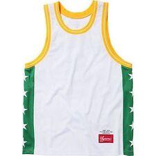 SUPREME Basketball Tank White XL Box Logo 2013 camp cap kate moss S/S 13