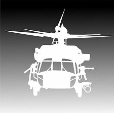 UH 60 Black Ops Helicopter Decal UH60 Blackhawk Chopper Sticker XLG