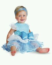 Disney Baby Cinderella Princess Costume 6-12M Halloween