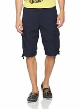 MEN'S BLUE CARGO SHORTS SIZE W31 EDC BY ESPRIT
