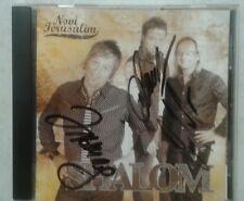 SHALOM rare CD NOVI JERUSALIM 12 tracks SIGNED praise the Lord TIME OF HIS FAVOR