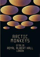 ARCTIC MONKEYS 2018 LONDON CONCERT TOUR POSTER-Indie / Garage / Psych Rock Music