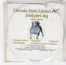 (FE77) Backyard Dog, 6 track album sampler - DJ CD