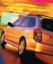 2002 Mazda PROTEGE5 Brochure / Catalog with Color Chart: Protege 5