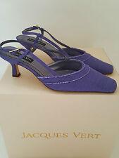 Jacques Vert Patternless Textile Heels for Women