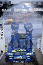 Kenneth Eriksson Subaru Impreza WRC 97 Winner Swedish Rally 1997 Photograph 4