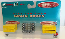 HO Scale LifeLike Scene Master 'Grain Boxes' Item #1660