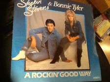SHAKIN STEVENS & BONNIE TYLER . A ROCKIN GOOD WAY  1983