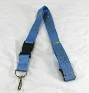 NBA Denver Nuggets Light Blue Lanyard Key Chain W/ Detachable Buckle