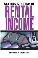 2 - GETTING STARTED IN RENTAL INCOME, Michael C. Thomsett (2005, Paperback) NEW