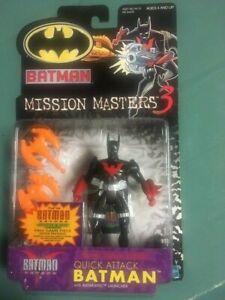 NIB 2000 Batman Mission Masters 3  QUICK ATTACK  BATMAN Action Figure