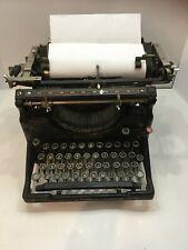 Vintage Antique Underwood Standard Number 5 Typewriter