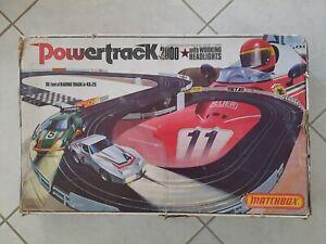Circuit Powertrack 2000 Matchbox Porsche Corvette scalectric aurora pas tcr NOS