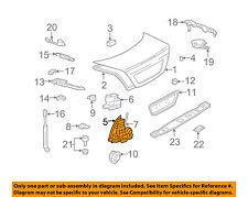 MERCEDES OEM 03-06 S500 Trunk Lid-Lock 2207500185