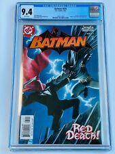 Batman #635 1st Jason Todd as Red Hood! CGC 9.4
