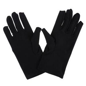 1 pair Cotton gloves Khan cloth Solid gloves rituals play white glovesB JG