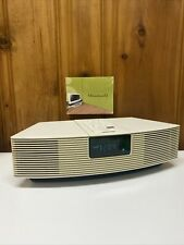 New listing Bose Wave Radio Awr1-1W Working-Platinum White No Remote