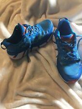 Hoka One One Womens Size 7.5 Lace Blue Infinite Running Shoes Walking Exercise