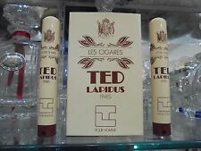 "TED LAPIDUS pour homme ""LES CIGARES"" AFTER SHAVE 2 pieces 15+15 ml spray RARE!!!"