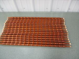 """16 Vintage Wood Salvaged Chair Spindles Balusters Crafter Repurpose 27 5/8"""" Long"""