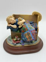 "Amish Heritage Collection 1996 Figurine  ""Tuckered Out"" 30069 Limited Edition"