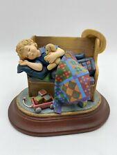 """Amish Heritage Collection 1996 Figurine """"Tuckered Out"""" 30069 Limited Edition"""