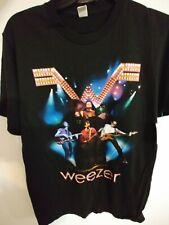 Weezer Troublemaker Tour 2008 Black T-Shirt