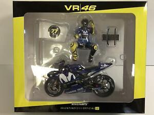 Minichamps 122183246 Valentino Rossi Motogp Catalunya 2018 1:12 Echelle