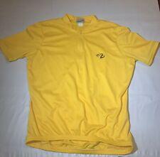 Trek Bicycle Jersey Large Yellow