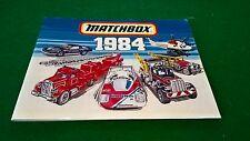 MATCHBOX COLLECTORS CATALOGUE 1984  EDITION EXCELLENT CONDITION