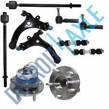 1997-2004 Oldsmobile Silhouette Front Lower Control Arm Wheel Hub Tie Rod Kit