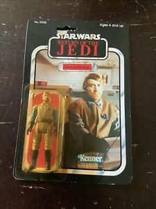 VTG. New 1983 Star Wars Return Of The Jedi General Madine Action figure Kenner