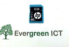 HP 8GB SDHC Flash  Media Card 726115-001