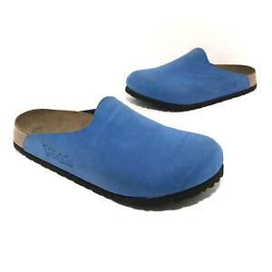 Birkis By Birkenstock Womens Clogs Size 37 Blue