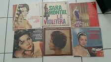 Sara Montiel..full lps collection..american edition..very good conditions