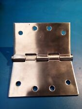 Set of 2, Door Hinges, Austyle 100mm x 55mm @ 3mm thick Stainless Steel ON SALE