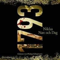 NIKLAS NATT OCH DAG: 1793 - SCHEPMANN,PHILIPP/RODEN,SIMON  2 MP3 CD NEW