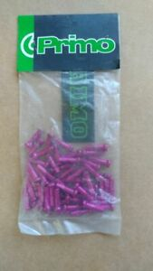 NOS NIB Primo Pr1mo alloy spoke nipples purple. Bag of 50 lightweight and strong