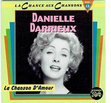 CD - DANIEL DARRIEUX - La Chanson D'Amour