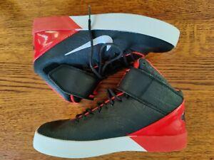 Nike KD Vulc Mid (GS) Boys Basketball Shoes 685495-004 Red Black Size 5.5Y