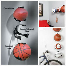 1PC Ball Holder Ball Claw Wall Rack Display for Rugby Soccer Football Basketball