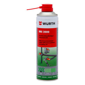 Wurth Adhesive Synthetic Lubricating Motorcycle Oil Spray - HHS 2000 (500 mL)