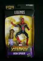 "RARE ""Iron Spider"" Man Action Figure Hasbro Toys Marvel Legends Avengers Endgame"
