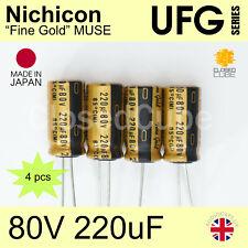 FW HQ AUDIO 5 pieces x 47uF 25V NICHICON JAPAN 5 x 11mm -ref:482