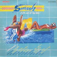 Bravo Sommer Smash Hits 1988 - 32 TOP-Hits auf 2 LPS: Sade, Die Ärzte, Fancy uva
